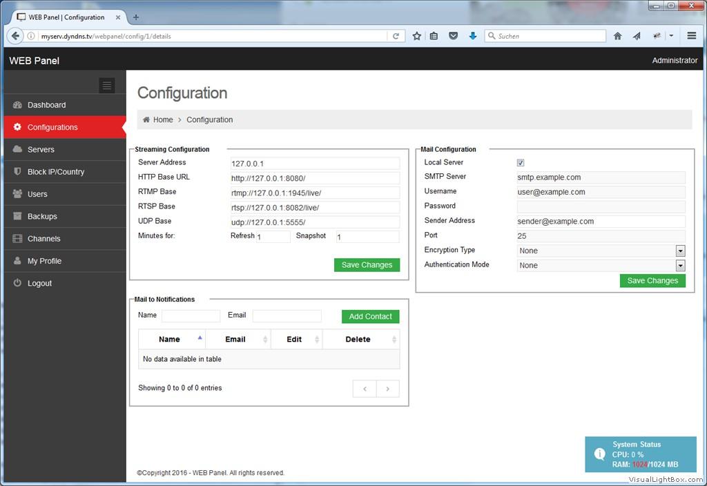 webtranscoder - LuxTV